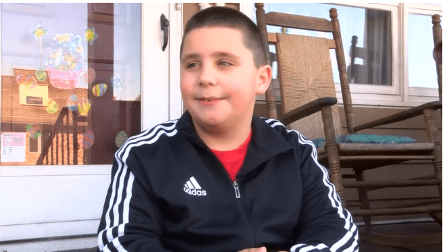 Jaxson Dempsey discusses saving his sister's life to People.   Photo: People