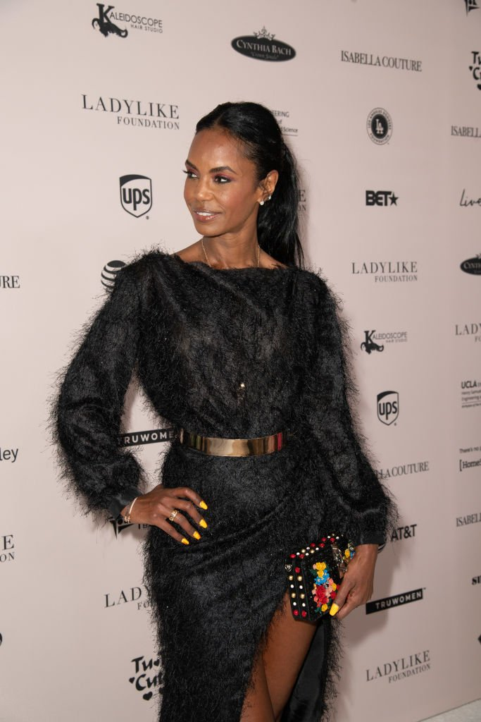 Kim Porter attends the Ladylike Foundation's 2018 Annual Women Of Excellence Scholarship Luncheon at The Beverly Hilton Hotel | Photo: Getty Images