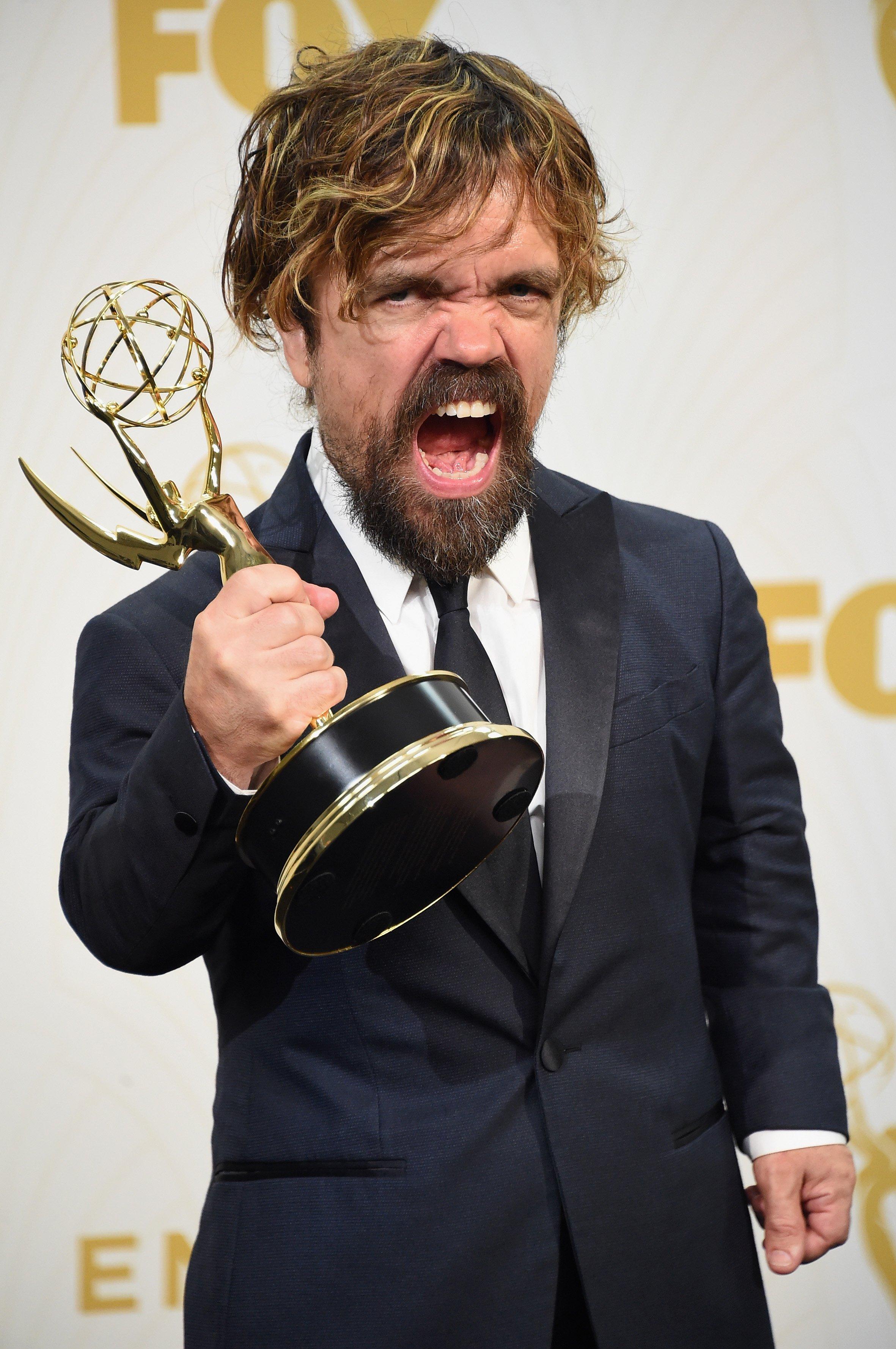 Peter Dinklage nominé pour le second prix EMMY pour son rôle dans Game of Thrones. | Source : Getty