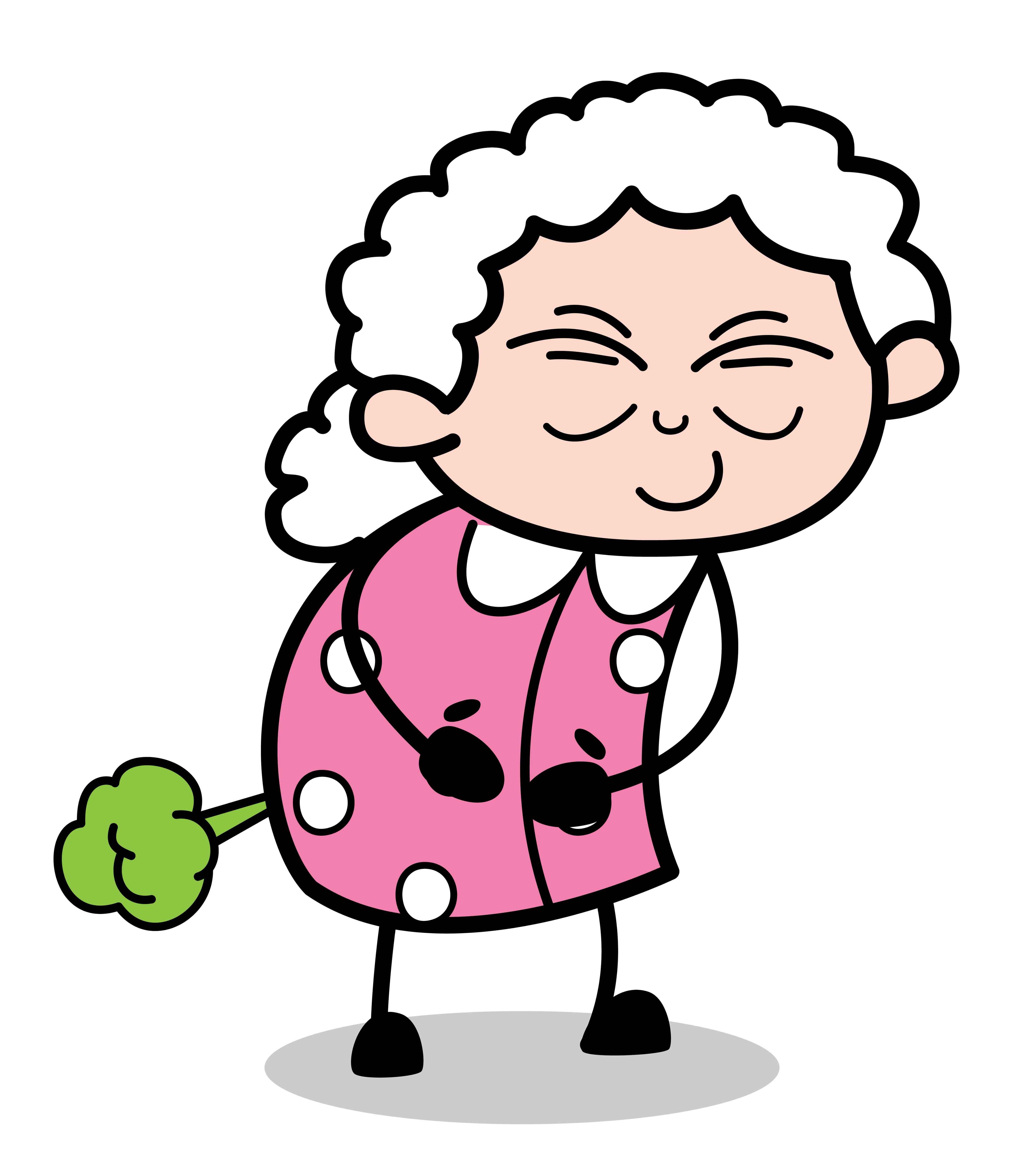 Old lady farts   Source: Shutterstock