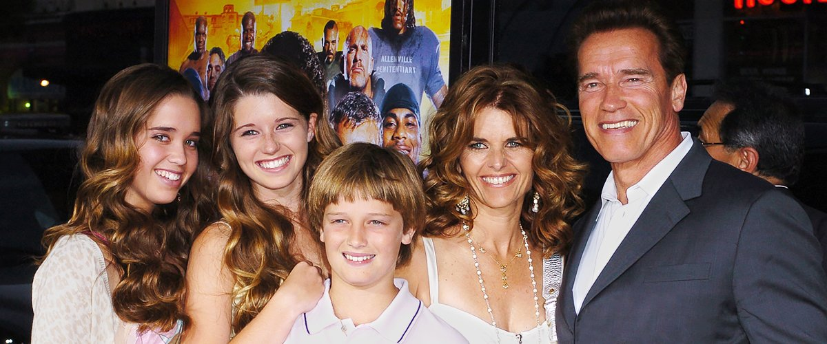 A picture of Arnold Schwarzenegger, his wife Maria Shriver and their kids   Photo: Getty Images