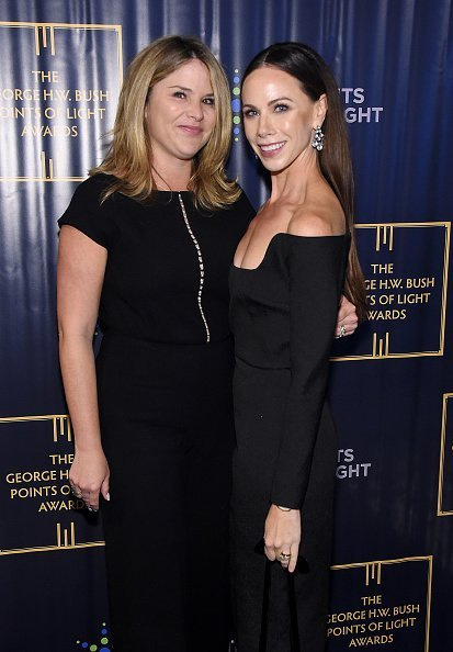 Jenna Bush Hager and Barbara Bush at The George H.W. Bush Points Of Light Awards on September 26, 2019 | Photo: Getty Images