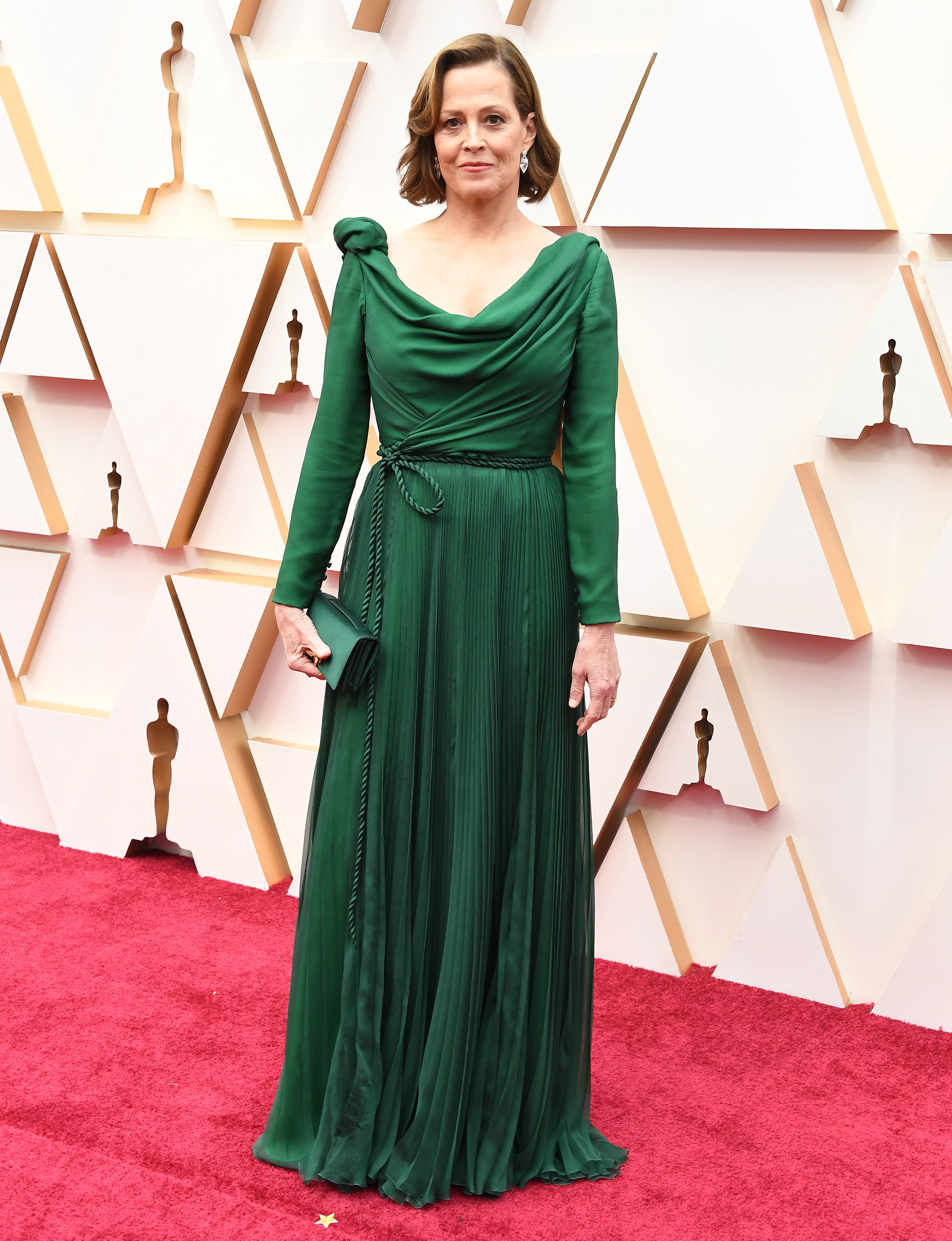 Sigourney Weaver aux Oscars le 09 février 2020 à Hollywood | Photo: Getty Images