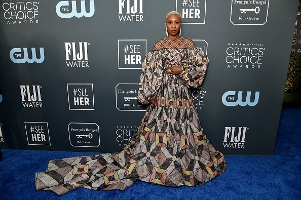 Cynthia Erivo attends the 25th annual Critics' Choice Awards at Barker Hangar in Santa Monica, California. | Photo: Getty Images