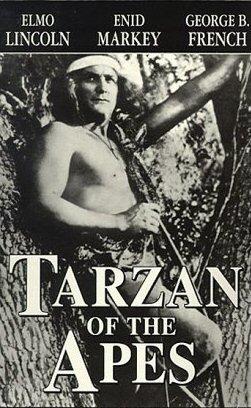 Poster para Tarzán de los monos, 1918. | Foto:  Wikimedia Commons