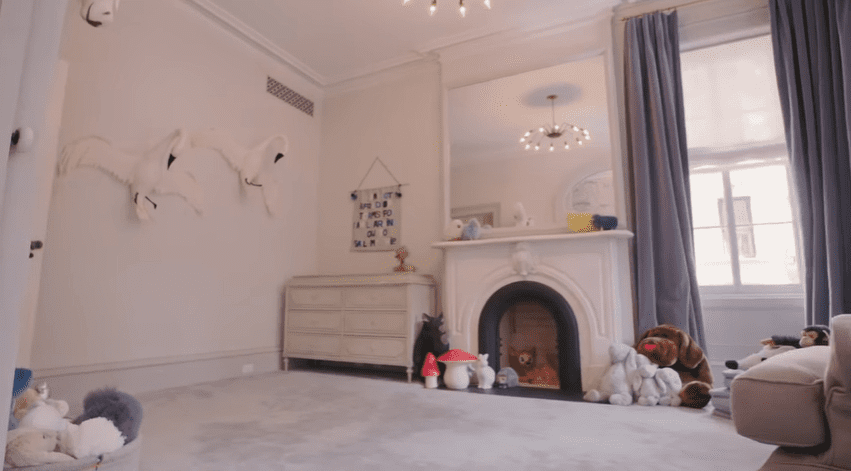 The nursery room | Source: YouTube/Architectural Digest