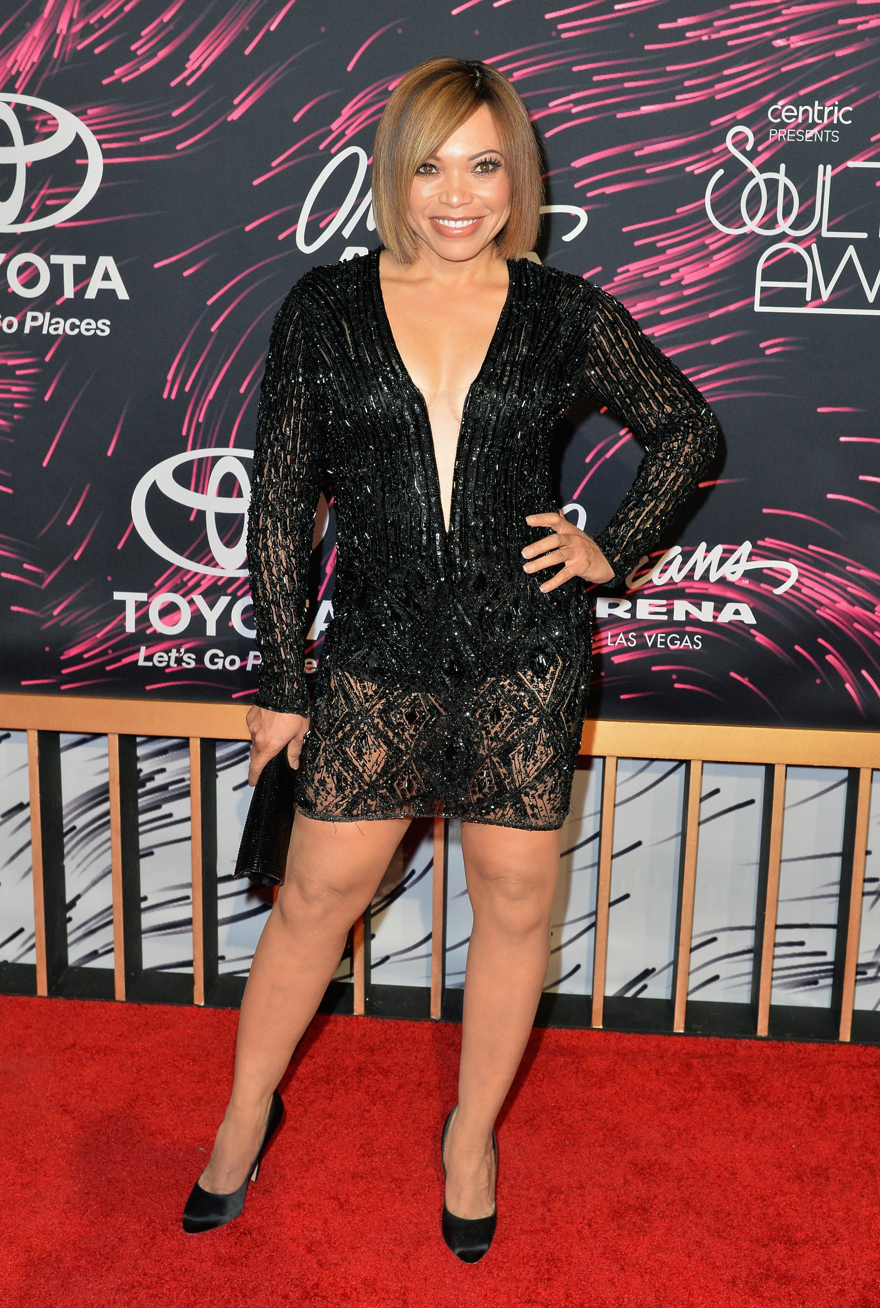 Tisha Campbell-Martin at the 2015 Soul Train Music Awards. | Photo: Getty Images