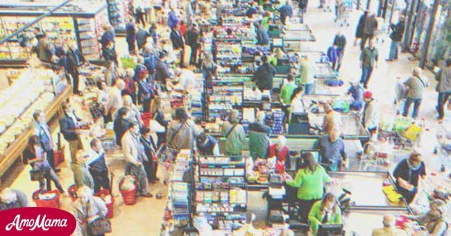 The crowded supermarket | Source: Shutterstock