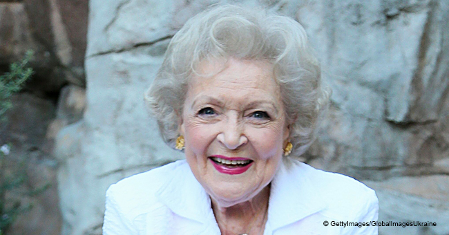 Betty White Makes a Rare Public Appearance in a Charming Floral Blouse