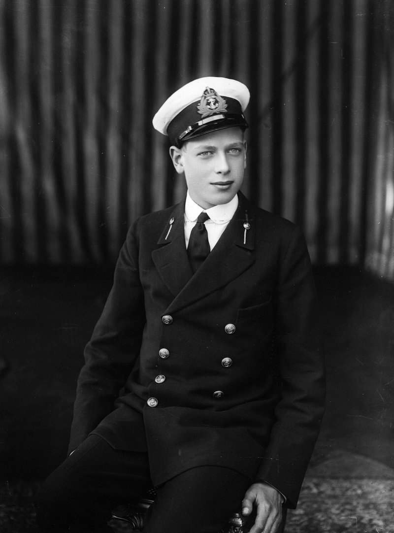 The Duke of Kent Prince George as a naval cadet circa 1920 | Photo: Getty Images