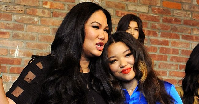 See Cute Pic Kimora Lee Simmons' Daughter Ming Posted of Brother Wolfe in a Red Sweater & Jeans