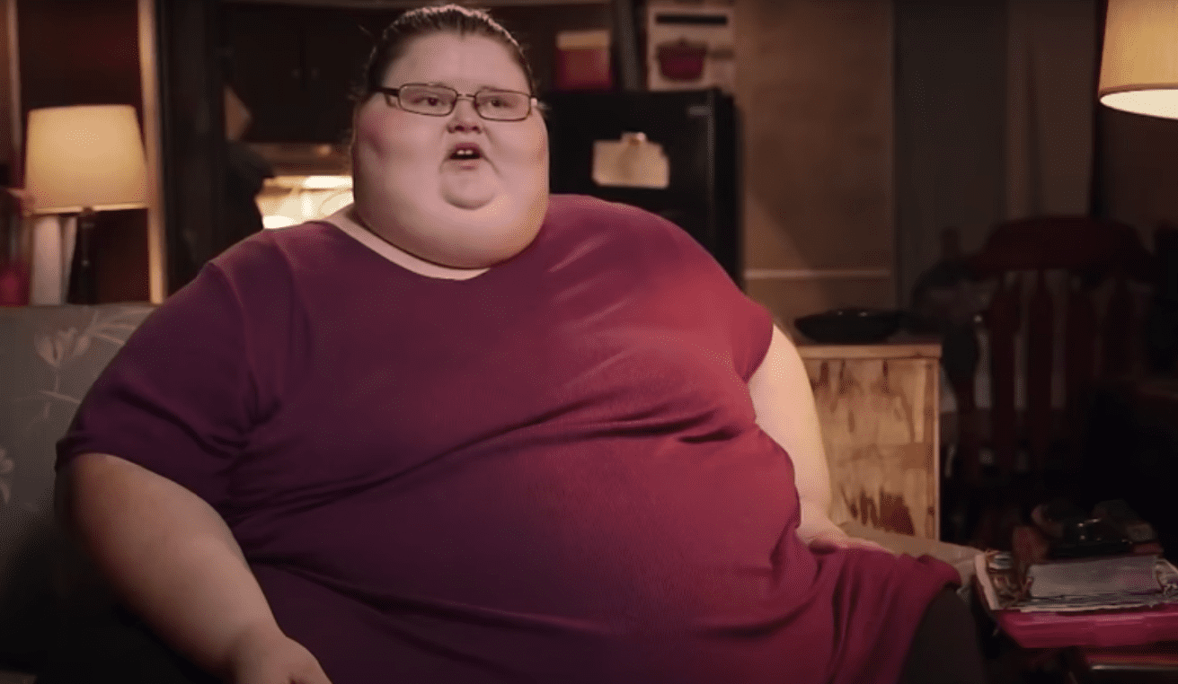 "A screenshot of a cast on ""My 600-lb Life."" 