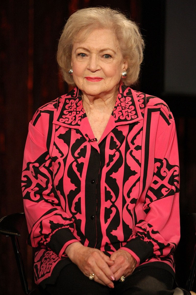 Betty White am 11. Juni 2009 in New York City   Quelle: Getty Images