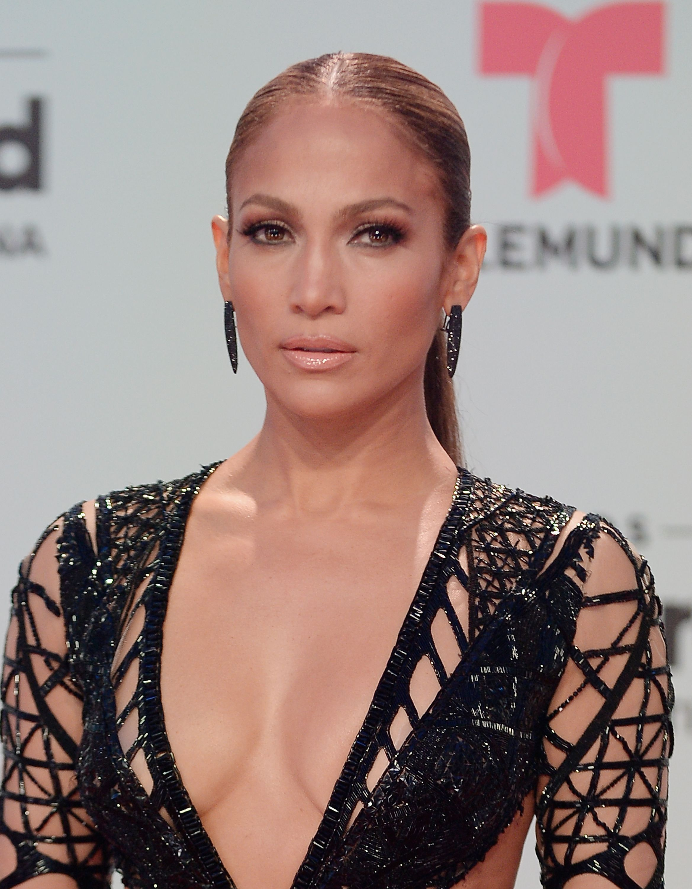 Jennifer Lopez attends the Billboard Latin Music Awards at Watsco Center on April 27, 2017 in Miami, Florida.   Photo: Getty Images