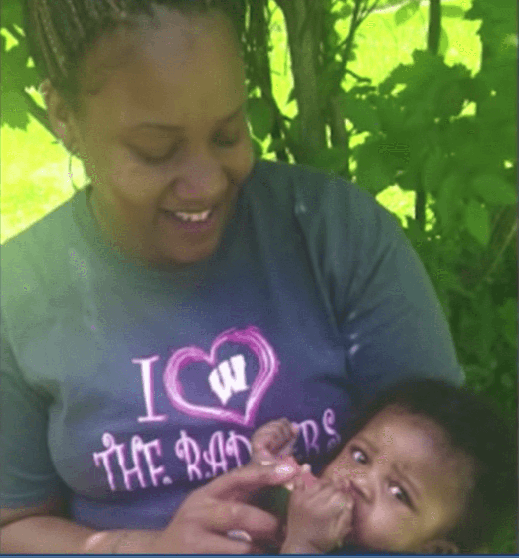 Tiffany Tate and her son, Alex | Source: YouTube/The Young Turks