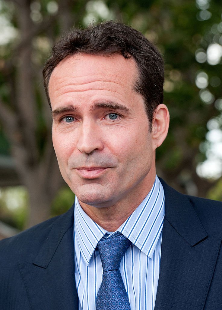 Jason Patric Holds A press Conference Outside of the Court on September 2, 2014 in Los Angeles | Photo: Getty Images