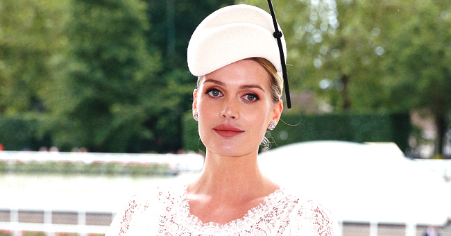 Princess Diana's Niece, Lady Kitty Spencer, Steals Hearts in White Guipure Dress at Royal Ascot