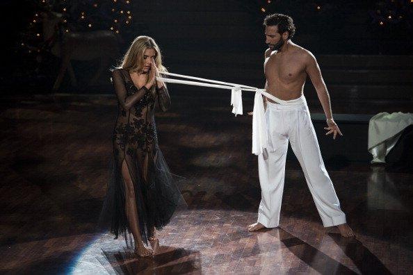 Sophia Thomalla und Massimo Sinato, Let's Dance, Köln, 2013   Quelle: Getty Images