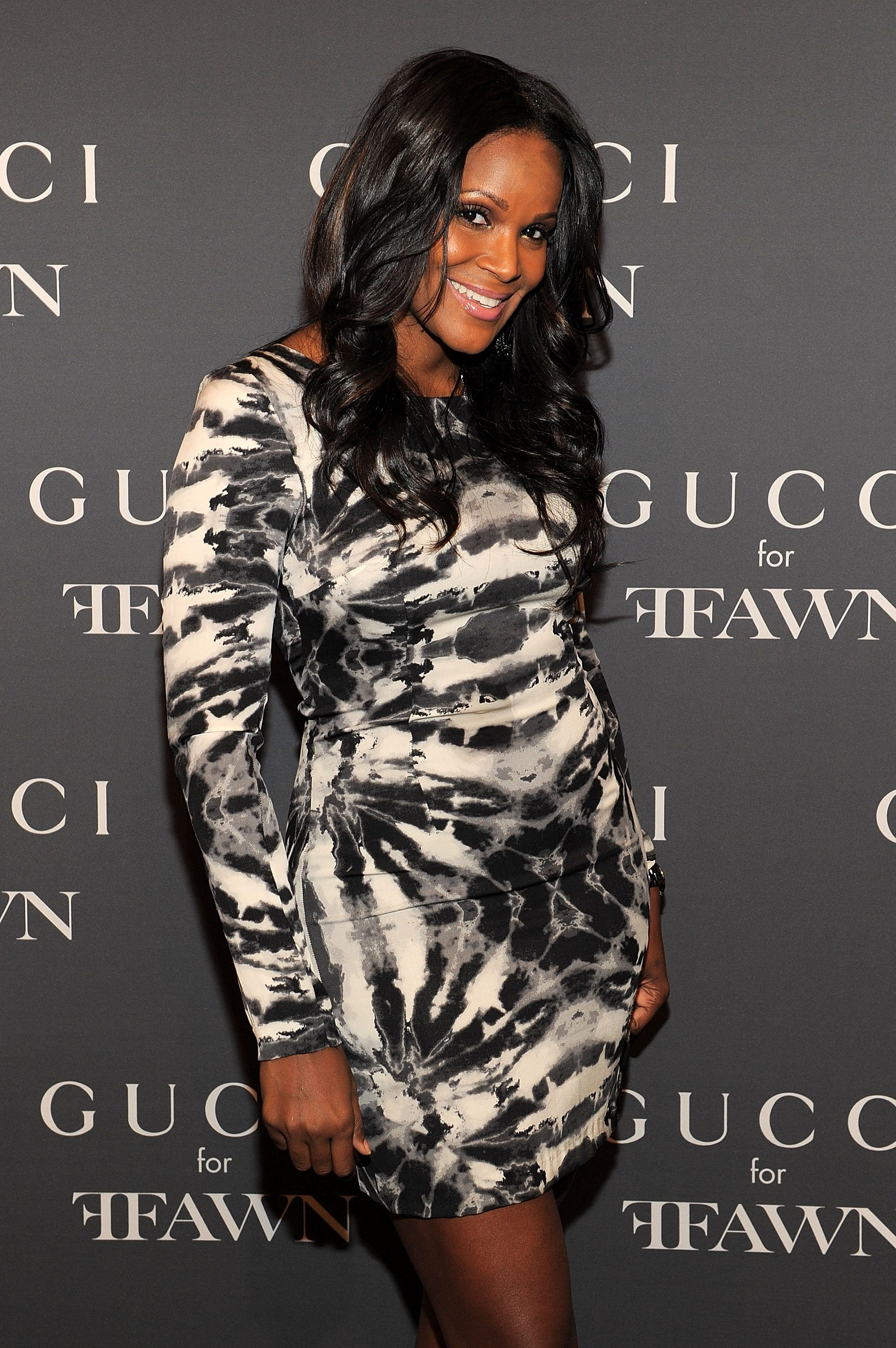 Tameka Foster attending a Gucci event in New York in September 2010. | Photo: Getty Images