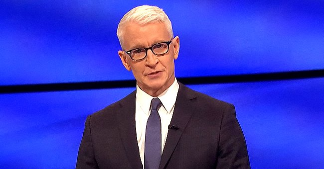 Anderson Cooper Posts an Adorable Snap Of 1-Year-Old Son Wyatt Watching Him Host 'Jeopardy!'