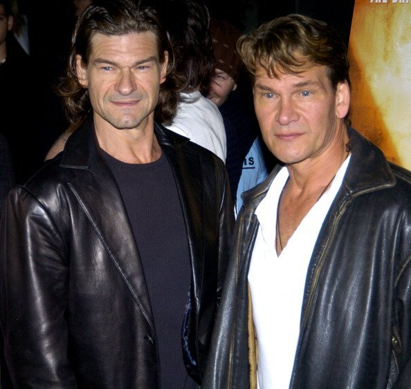 Don Swayze and Patrick Swayze at Arclight Cinerama Dome in Los Angeles | Photo: Getty Images