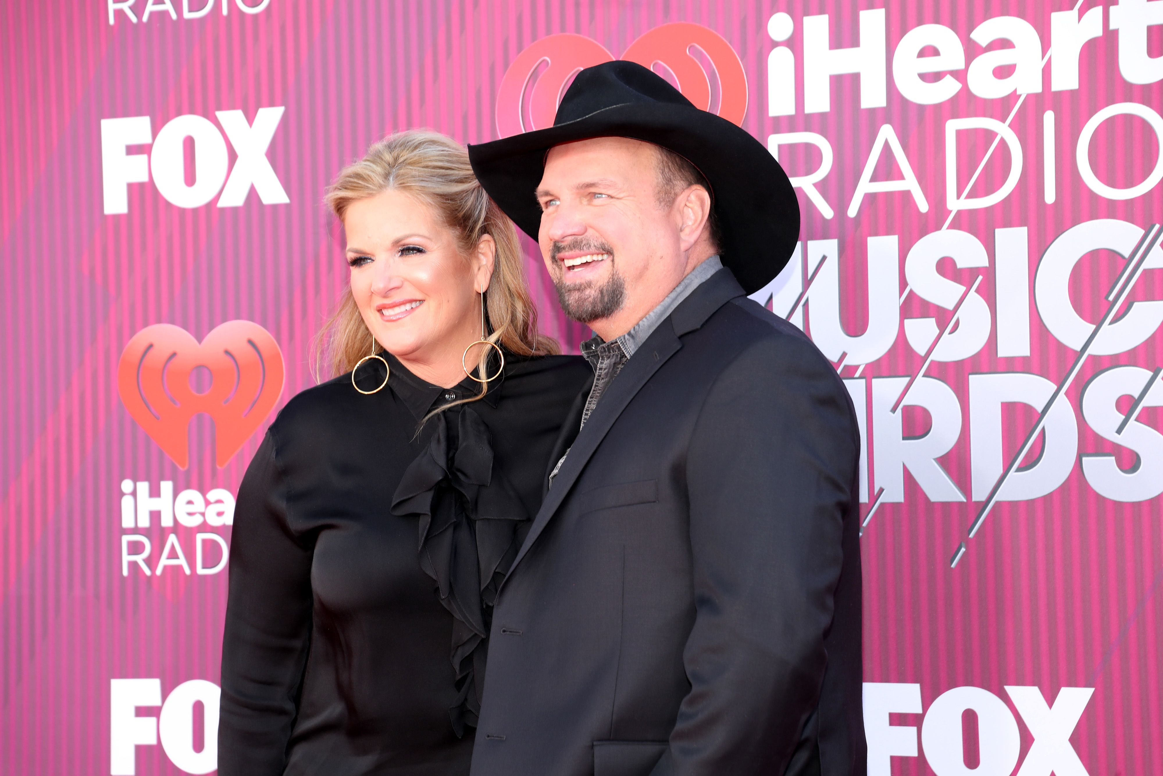 Trisha Yearwood and Garth Brooks at the iHeartRadio Music Awards which broadcasted live on FOX at Microsoft Theater on March 14, 2019 | Photo: Getty Images