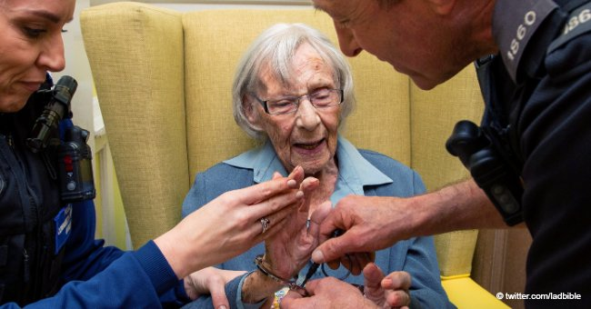104-Year-Old Retired Woman Arrested for the First Time in Her Entire Life