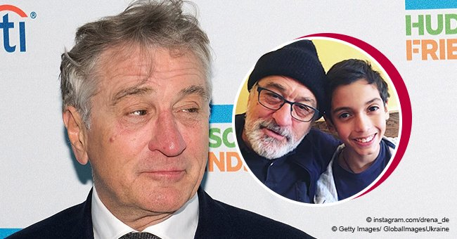 Robert De Niro's grandson is all grown up and he might follow his famous grandpa's career path