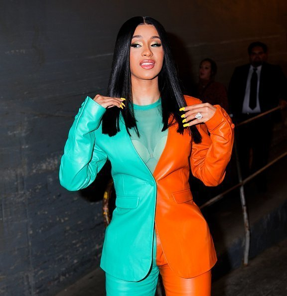 Cardi B at Vogue event on October 10, 2019 in New York City | Photo: Getty Images
