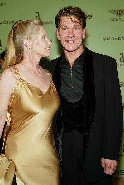 Patrick Swayze and Lisa Niemi at the Renaissance Hollywood Hotel on February 29, 2004 in Hollywood, California. | Photo: Getty Images
