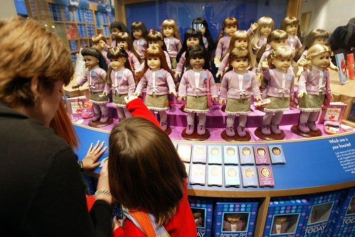 opening of American Girl Place New York November 7, 2003 in New York City I Image: Getty Images