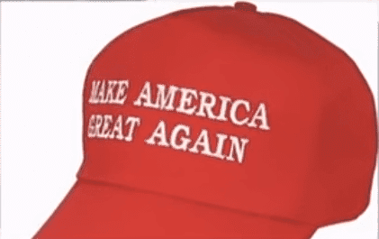 "The ""Make America Great Again"" hat 