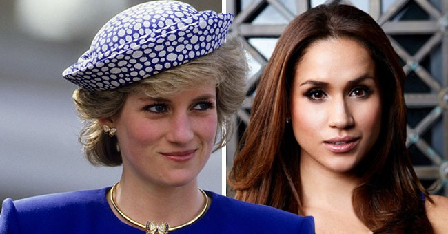 Us Weekly: Both Princess Diana & Meghan Markle Were Given Very Little Advice as Royal Members