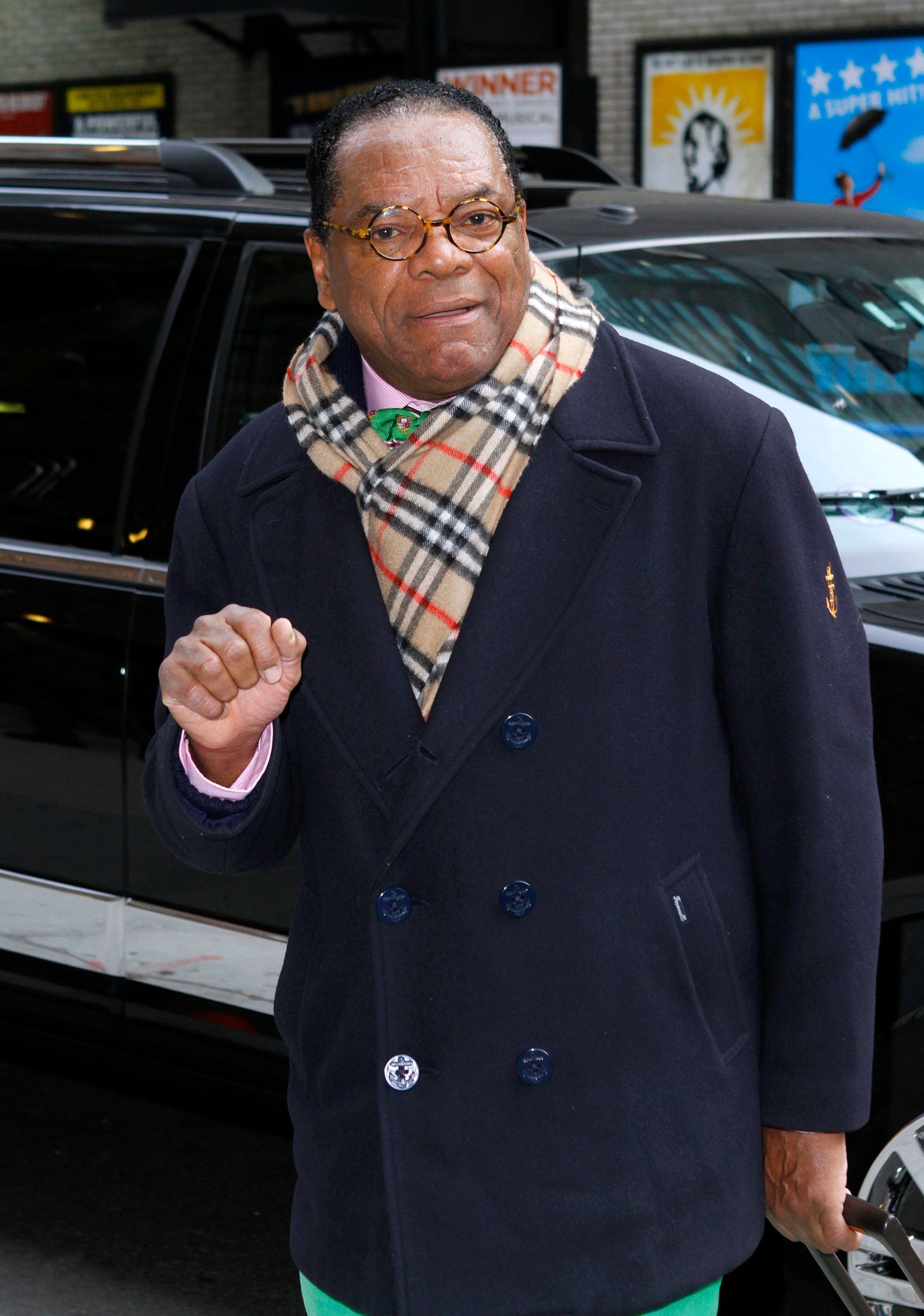 """John Witherspoon at """"The Late Show with David Letterman"""" at Ed Sullivan Theater on February 22, 2012 