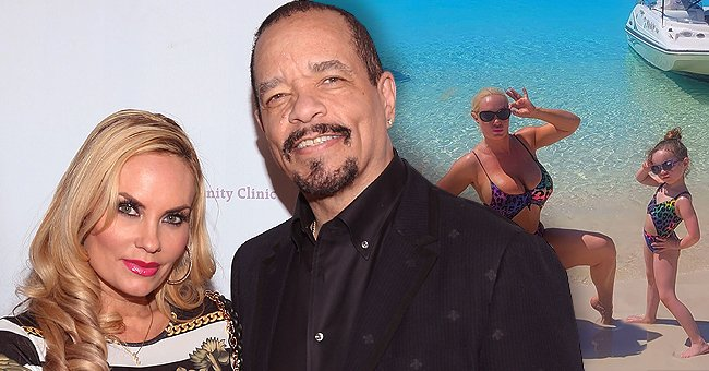 Coco Austin & Daughter Chanel Show Fans How They Start the Day at the Beach by Posing in Matching Swimsuits