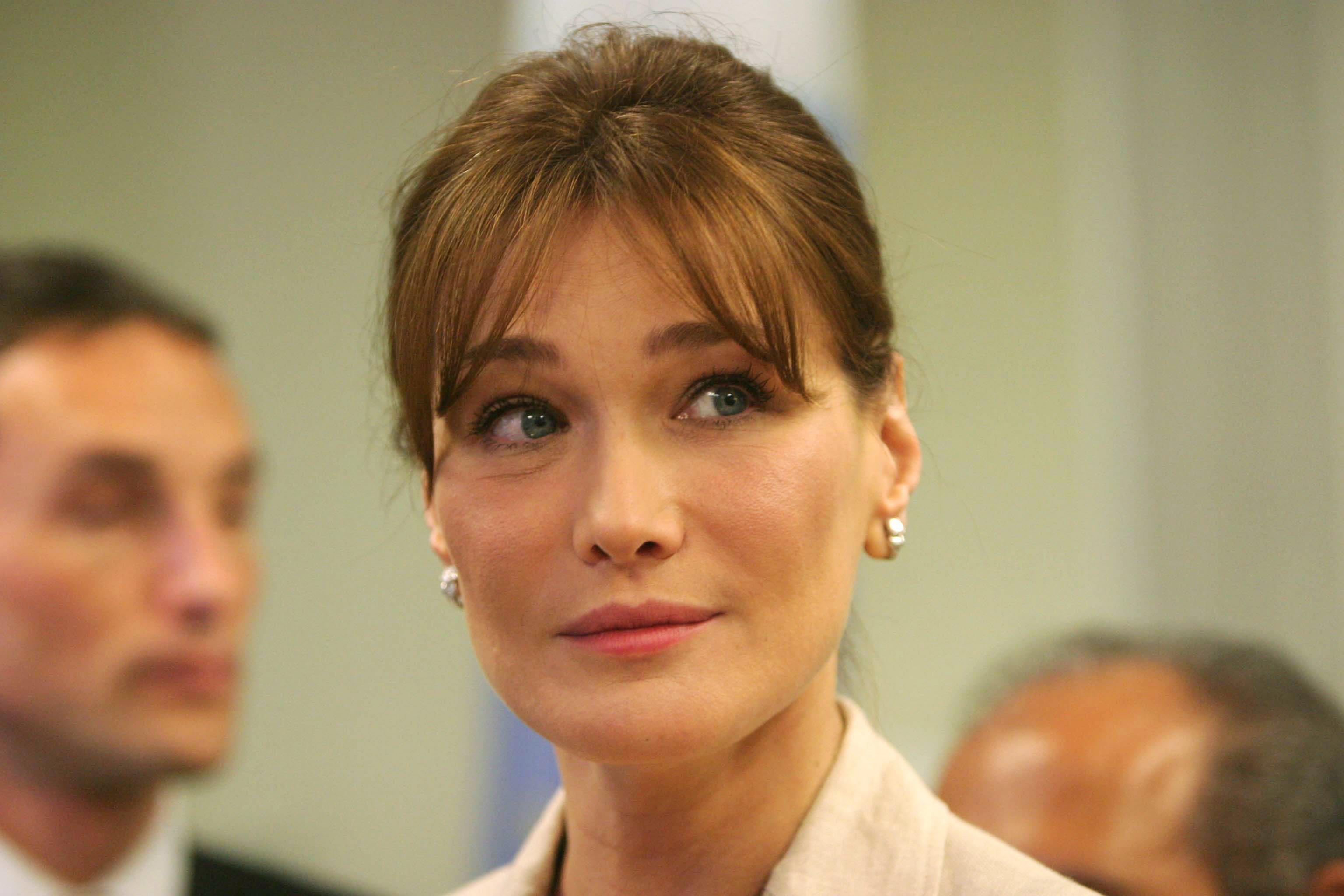 Carla Bruni-Sarkozy | Photo: Getty Images.