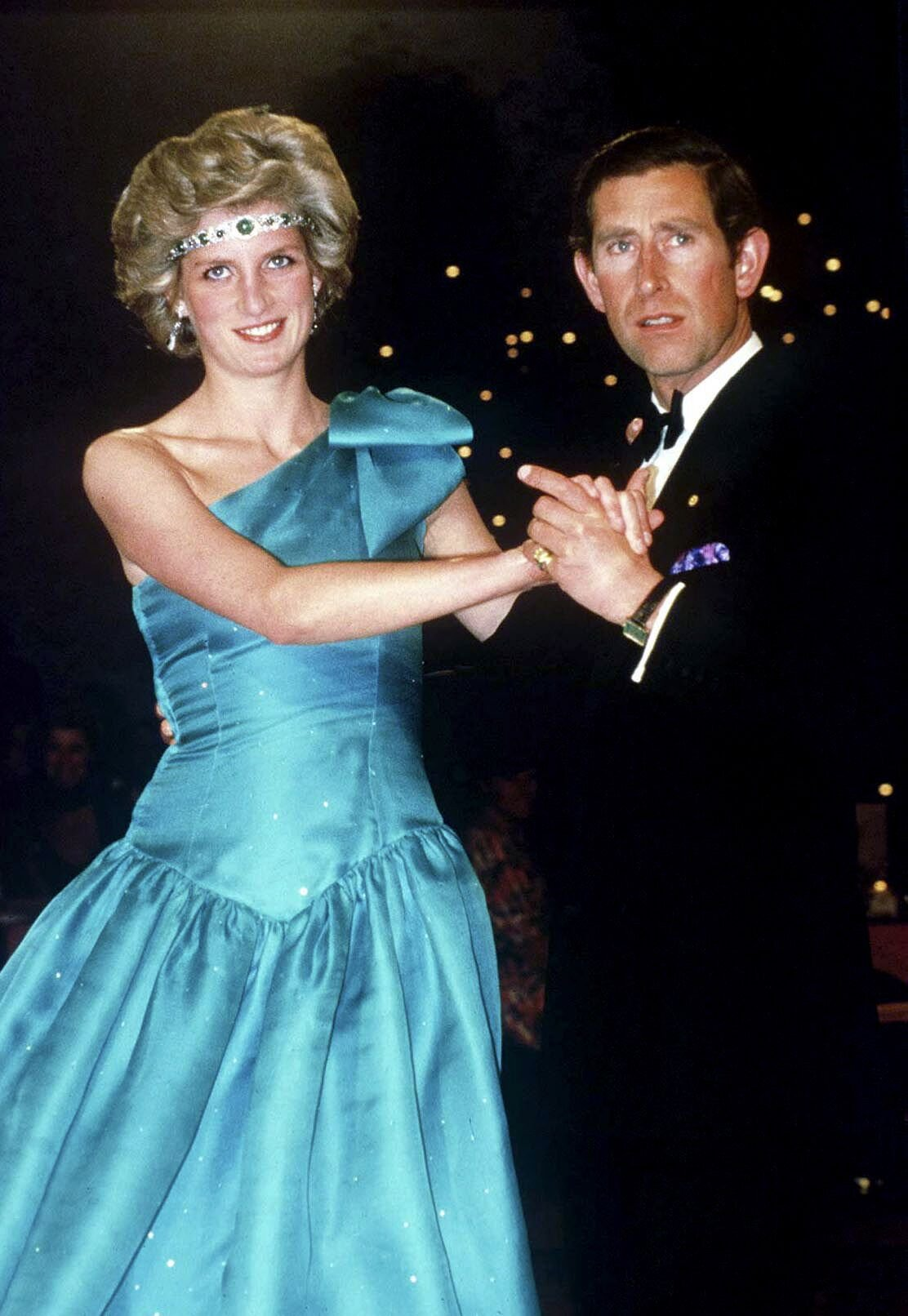 Prince Charles Dancing With His Wife, Princess Diana, in Melbourne. | Source: Getty Images
