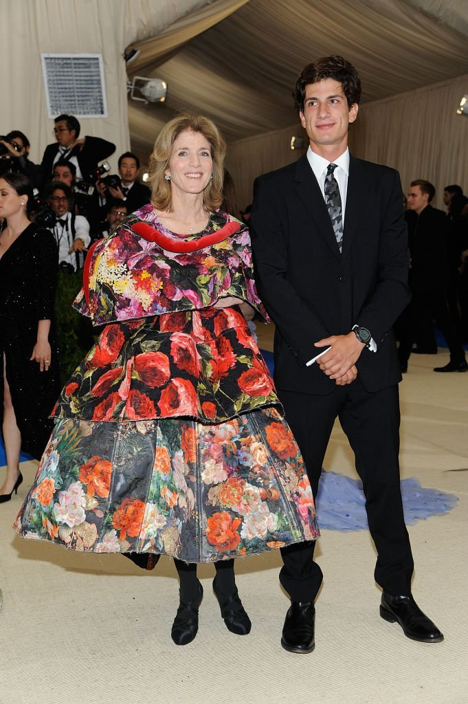 Caroline Kennedy and Jack Schlossberg at Metropolitan Museum of Art on May 1, 2017 in New York City | Source: Getty Images/Global Images Ukraine