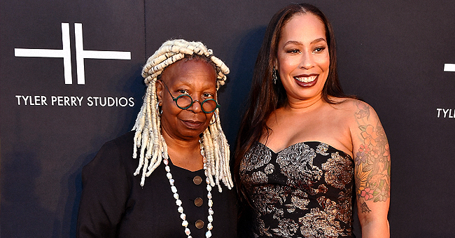 Whoopi Goldberg of 'The View' Slammed over Her Look as She Poses with Daughter Alex Martin at Tyler Perry Studios Bash