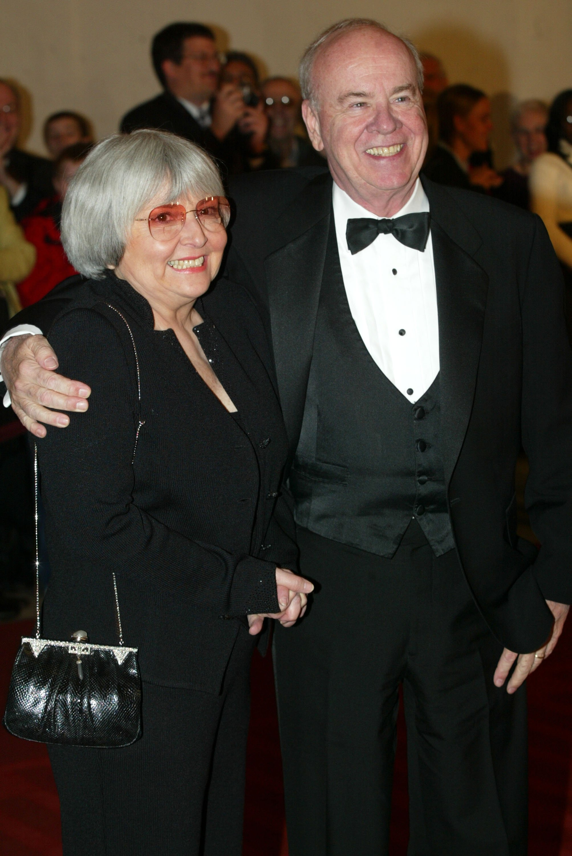 Tim Conway and his wife Charlene at the 5th Annual Kennedy Center Mark Twain Prize presentation ceremony October 29, 2002 | Source: Getty Images