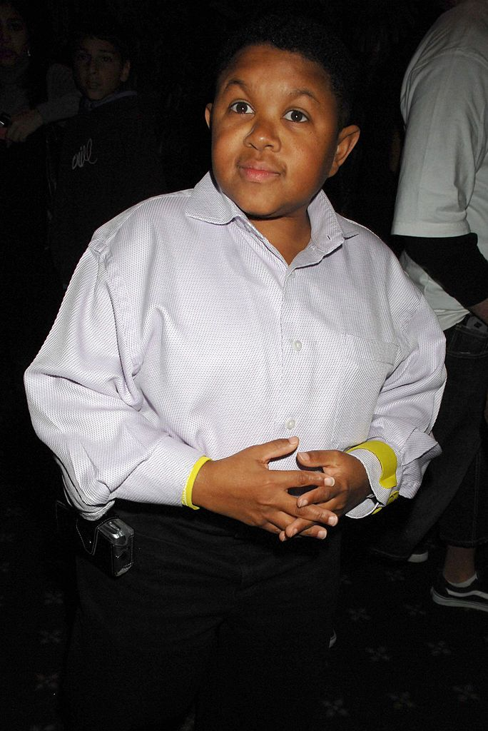 "Emmanuel Lewis attends the ""Kickin' It Old Skool"" premiere after-party at Music Box in Los Angeles, California in April 2007. 