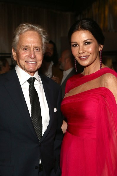 Michael Douglas and Catherine Zeta-Jones at the Netflix's 71st Emmy Awards After Party in Hollywood, California.| Photo: Getty Images.
