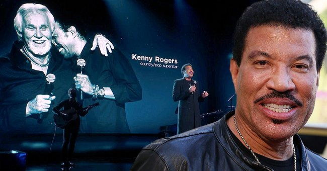 Lionel Richie Pays Touching Tribute to Late Kenny Rogers at the 2021 Grammy Awards