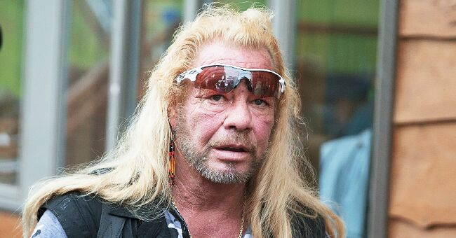 Duane 'Dog' Chapman Posts Outdoor Photo of Himself Sitting Alone and Fans Are Concerned