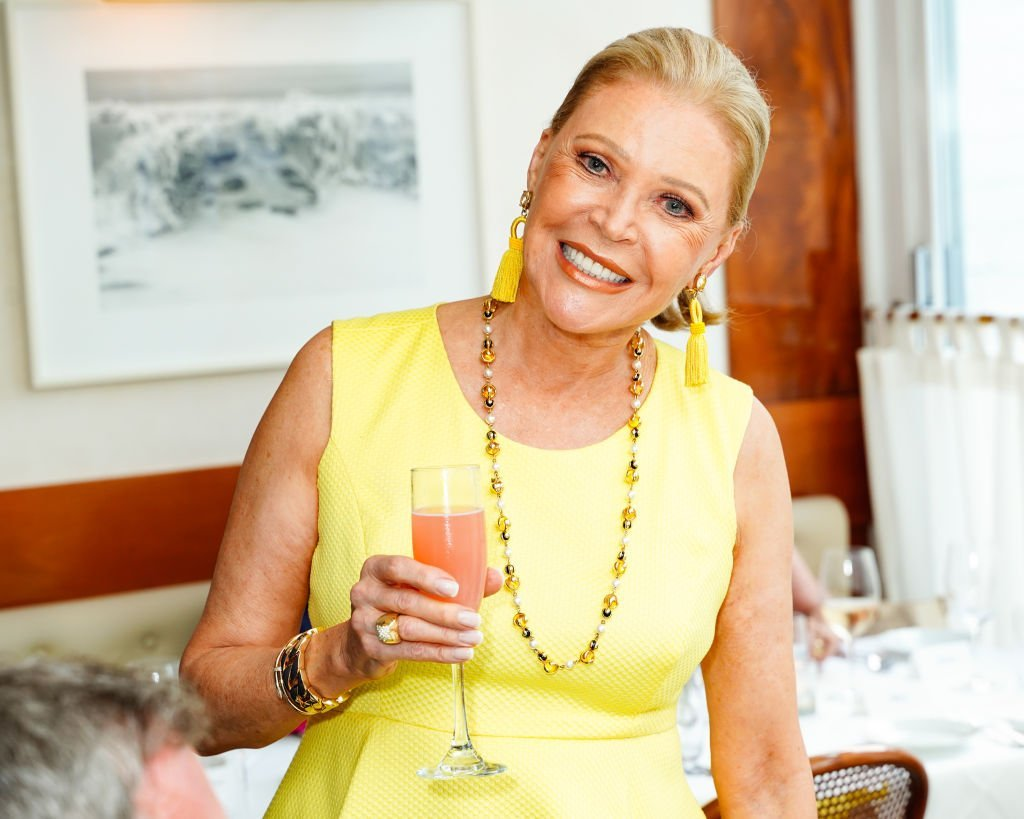 Audrey Gruss attends Audrey Gruss And Arthur Dunnam Host Race Of Hope Committee Dinner at Sant Ambroeus on July 19, 2019 in Southampton, New York | Photo: Getty Images