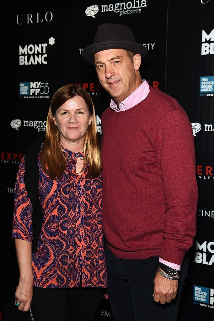 Anthony Edwards (L) and Jeanine Lobell attend The New York Film Festival Premiere Of Magnolia Pictures' Experimenter | Getty Images / Global Images Ukraine
