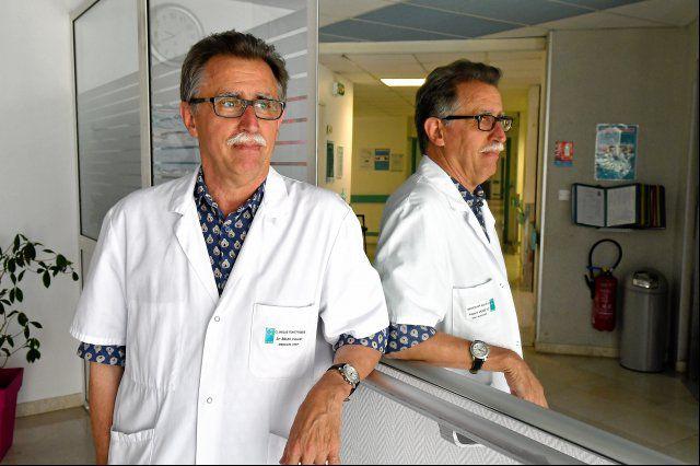 La photo du docteur Vincent Brun | Source: Midi Libre