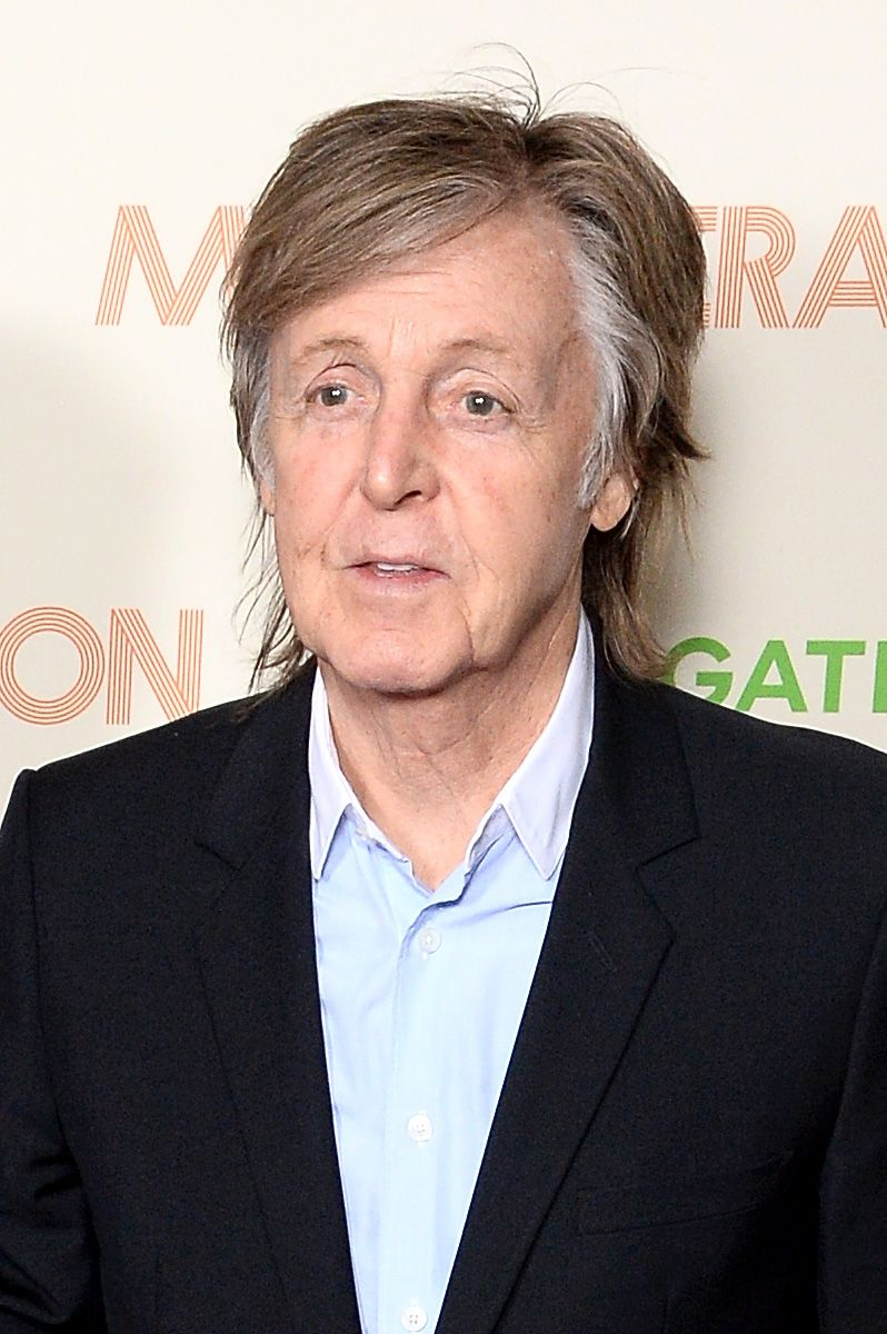 Paul McCartney at the My Generation special screening at BFI Southbank on March 14, 2018 in London, England.   Source: Shutterstock