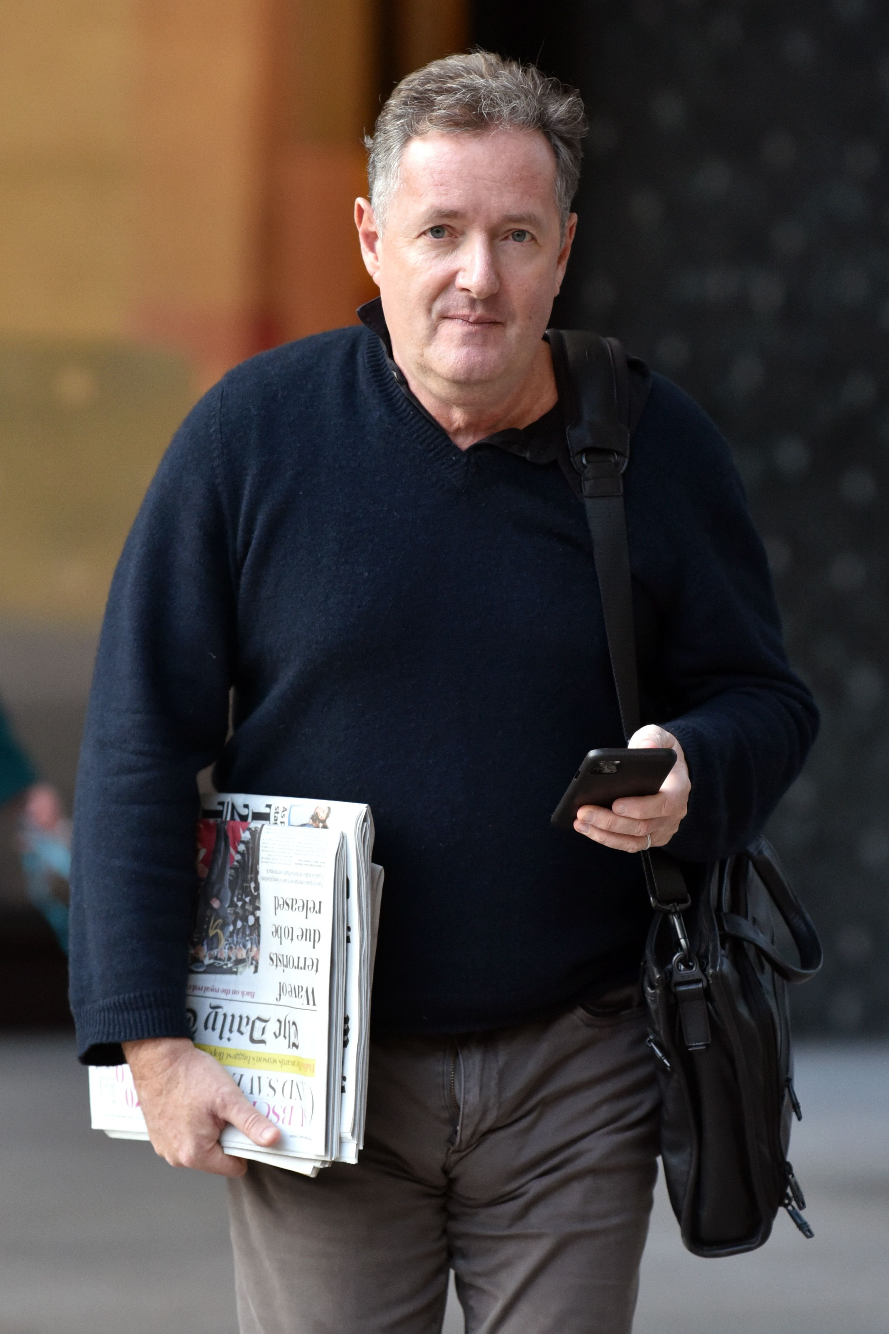 Piers Morgan at the ITV Studios on February 04, 2020 | Getty Images