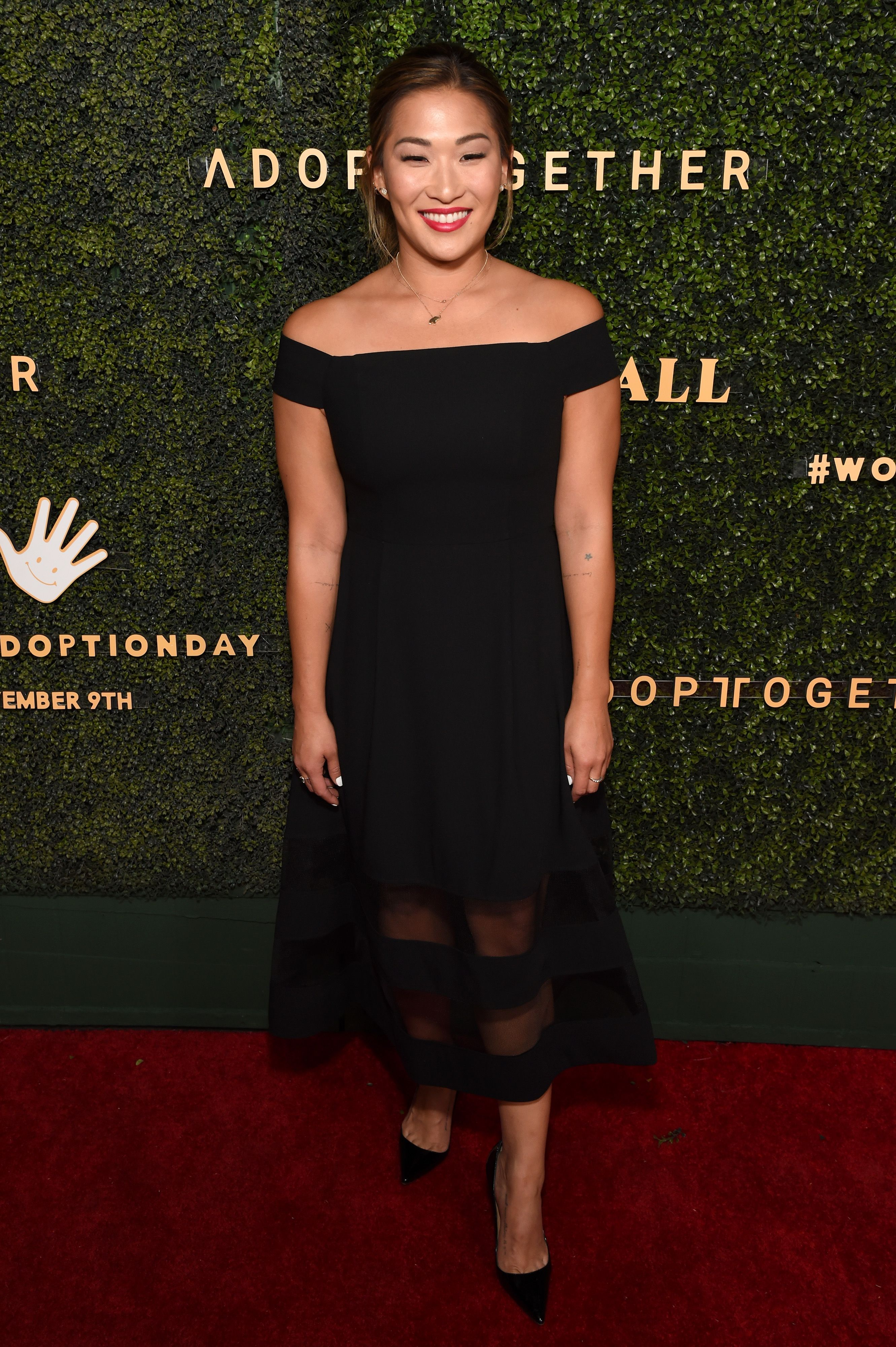 Jenna Ushkowitz at the 5th Adopt Together Baby Ball Gala on October 12, 2019 | Photo: Getty Images